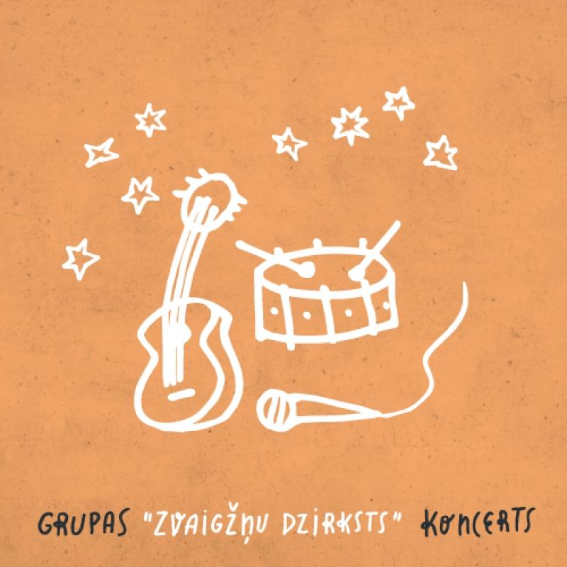 """Mūzikas grupas """"Zvaigžņu dzirksts"""" akustiskais koncerts"""