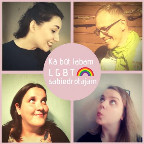 """Saruna """"Kā būt labam LGBT sabiedrotajam?"""""""