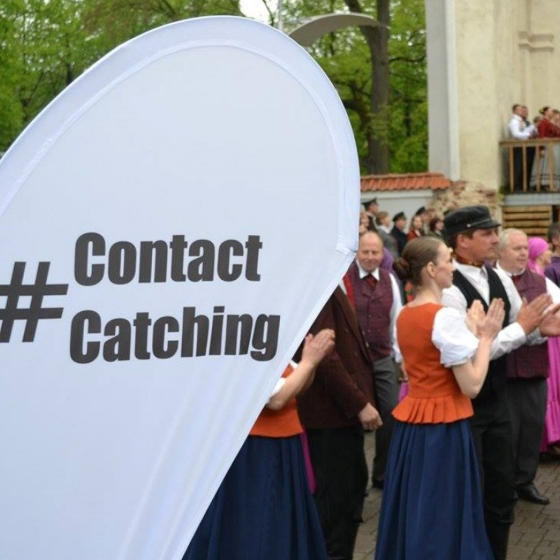 #ContactCatching – soliņš tiešam sarunu savienojumam