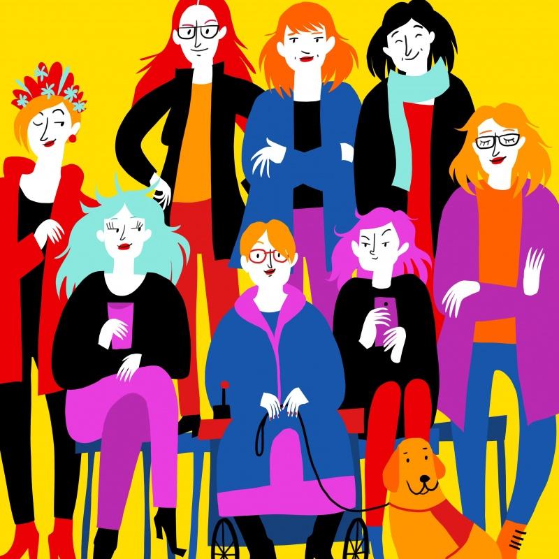 Sieviešu stendaps drosmei