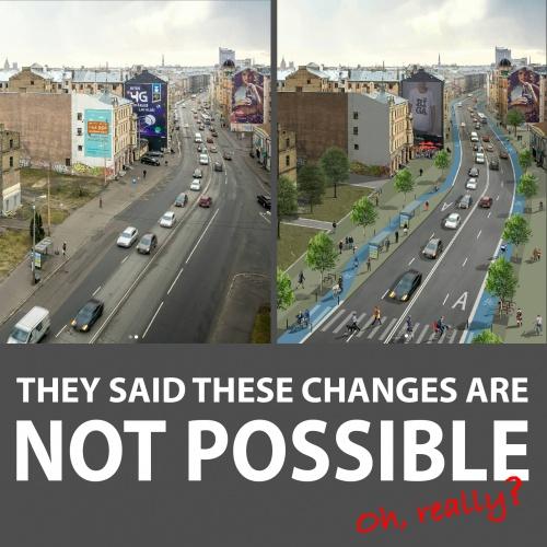 """Pieredzes stāsti un diskusija """"Latvijas pilsētu infrastruktūra nevar kļūt par pasaulē labāko – vai tiešām?"""""""