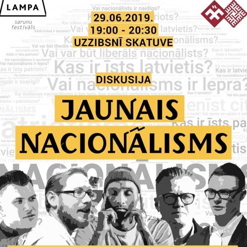 """Diskusiju panelis """"Jaunais nacionālisms"""""""
