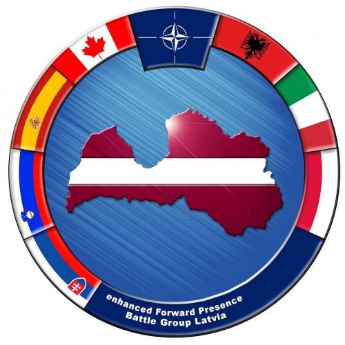 NATO paplašinātās klātbūtnes Latvijā kaujas grupa
