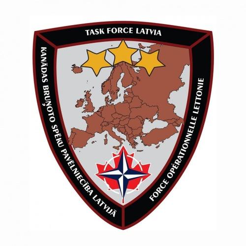 Kanādas bruņoto spēku pavēlniecība Latvijā (Task Force Latvia )